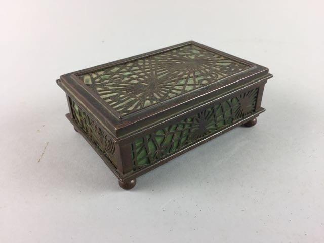 Tiffany Studio New York Dresser Box