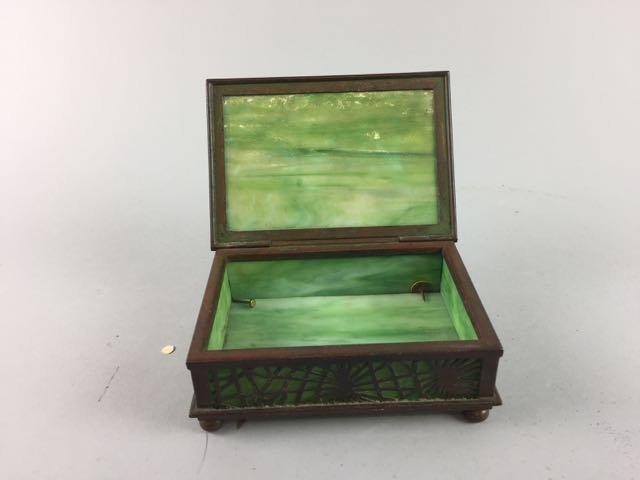 Tiffany Studio New York Dresser Box - 3