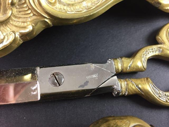 Brass Inkwell Set - 4
