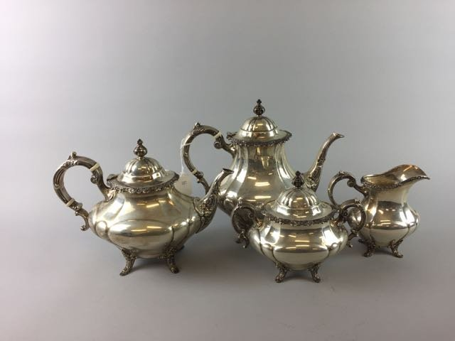 Reed and Barton Sterling Coffee/Tea Set