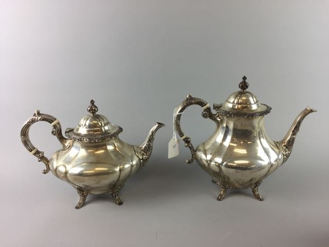 Reed and Barton Sterling Coffee/Tea Set - 2