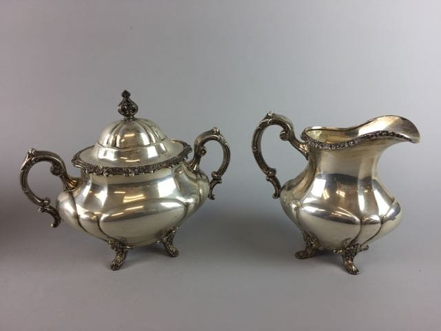 Reed and Barton Sterling Coffee/Tea Set - 3