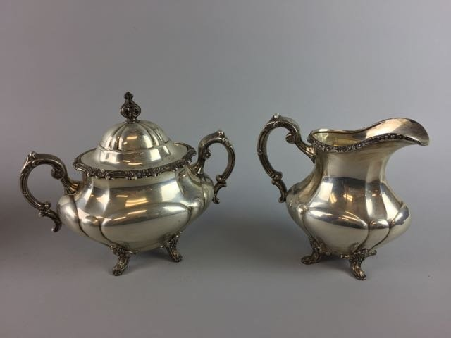 Reed and Barton Sterling Coffee/Tea Set - 4