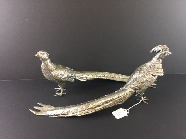 Pair Pheasant Figures - 2