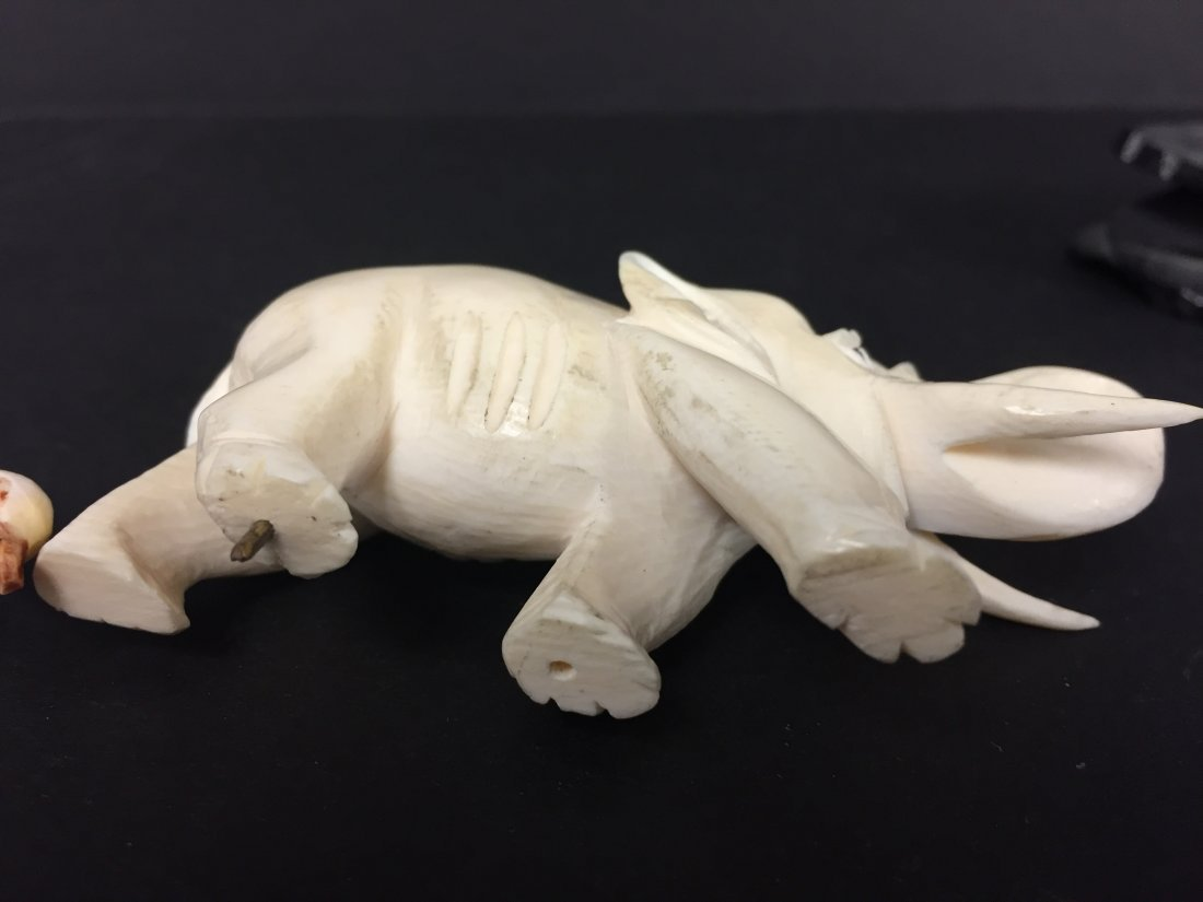 Carved Ivory Lot - 4