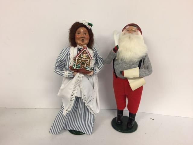 Byer's Choice Santa & Mrs. Claus