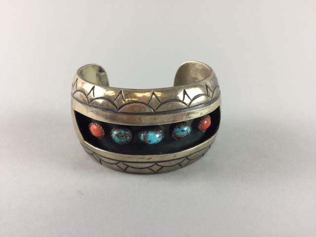 Sterling Native American Bracelet
