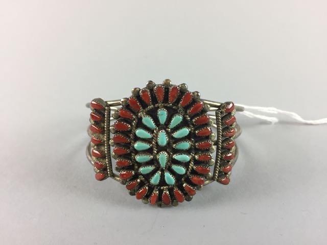 Sterling Native American Bracelet