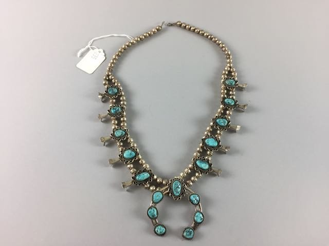 Sterling Native American Necklace