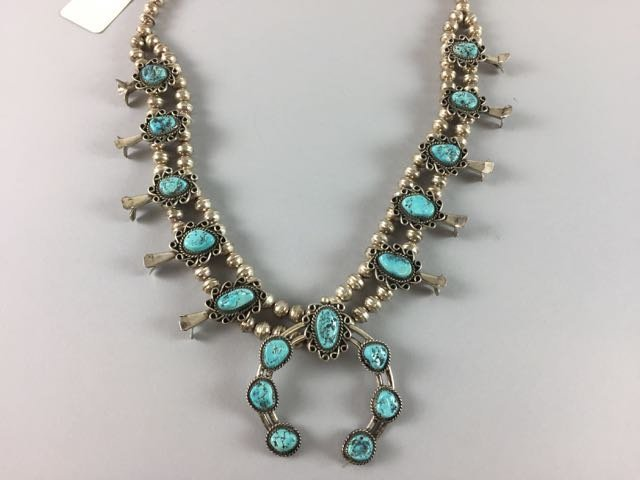 Sterling Native American Necklace - 2
