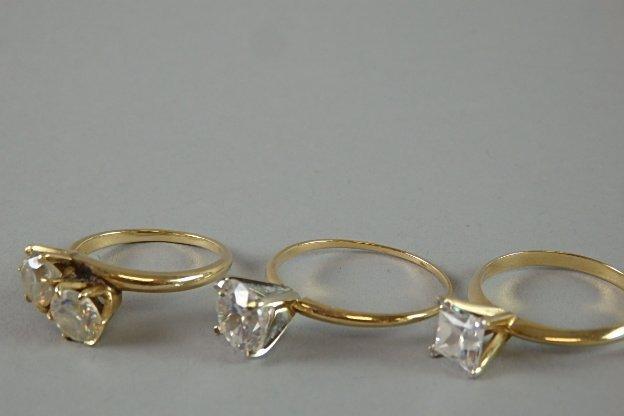 Lot of Three 14k Rings - 4