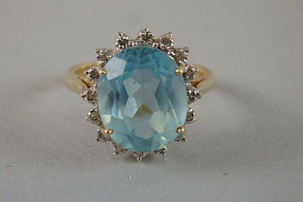 14k Ladies Ring - 6