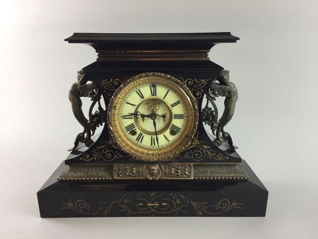 Victorian Ansonia Mantle Clock