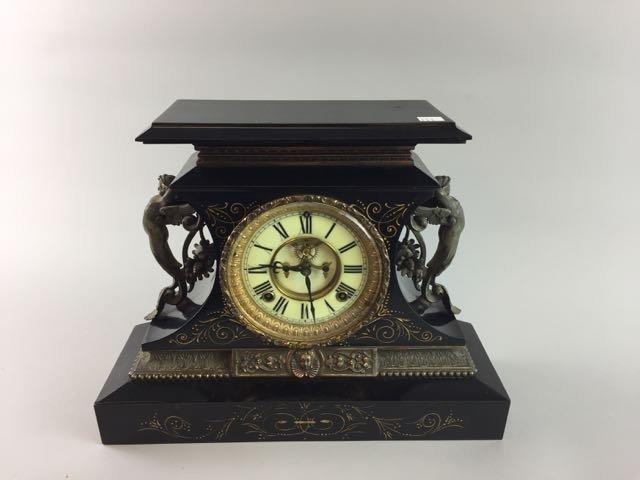 Victorian Ansonia Mantle Clock - 2