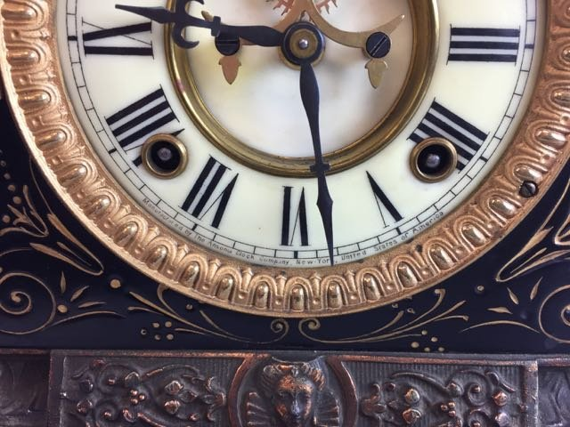 Victorian Ansonia Mantle Clock - 3