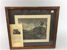 5 Framed Bruce S. Garrabrandt Limited Ed. Prints
