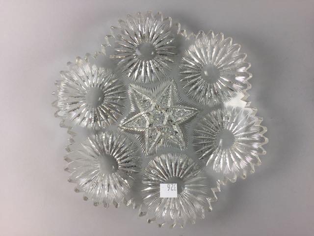 2 Piece Cut Glass Lot - 2