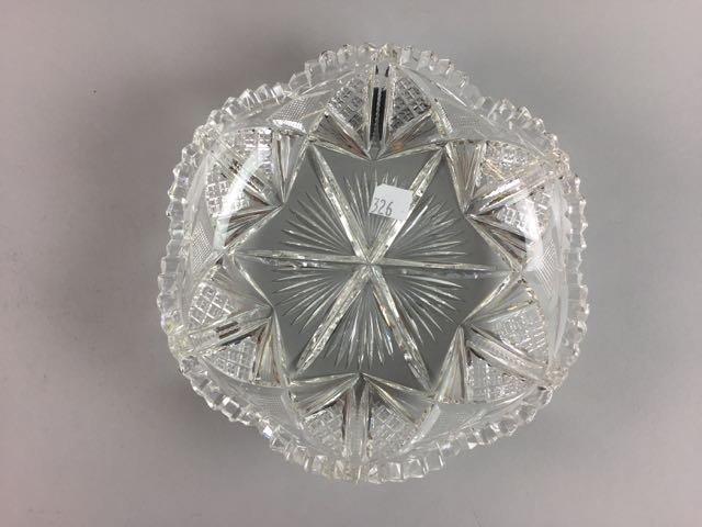 2 Piece Cut Glass Lot - 3