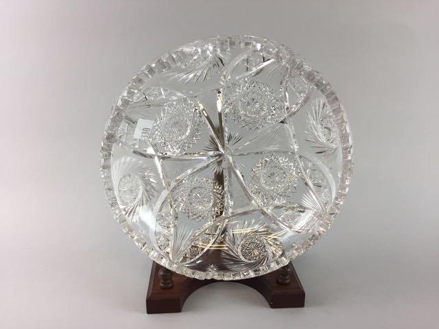 2 Piece Cut Glass Lot - 4