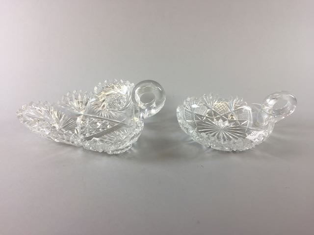 2 Piece Cut Glass Lot - 3