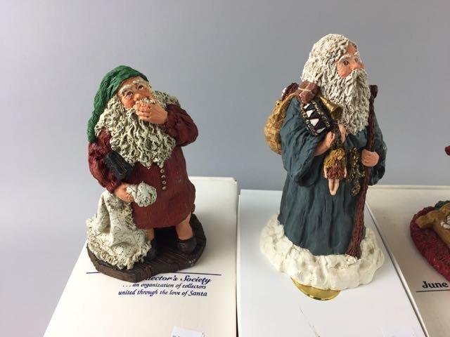 4 June McKenna Figures, Collector Santa - 3