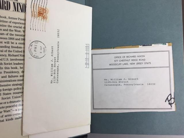 3 Hardback Nixon Autographed Books - 5