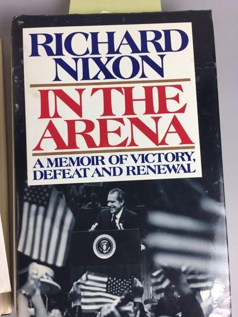 3 Hardback Nixon Autographed Books - 7