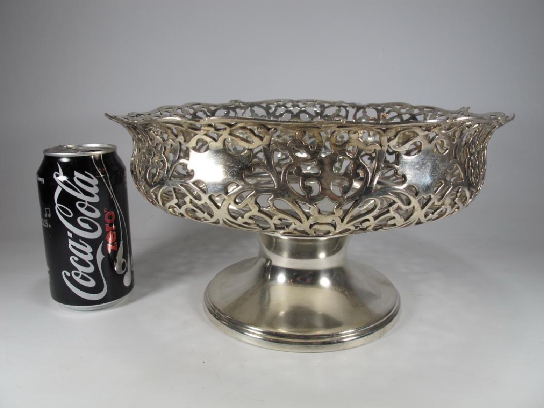 Apollo Silver Co, NY silverplate centerpiece