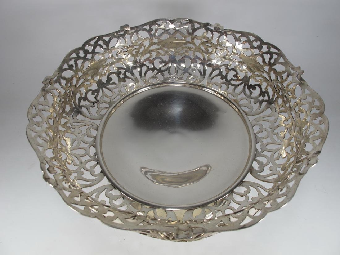 Apollo Silver Co, NY silverplate centerpiece - 2