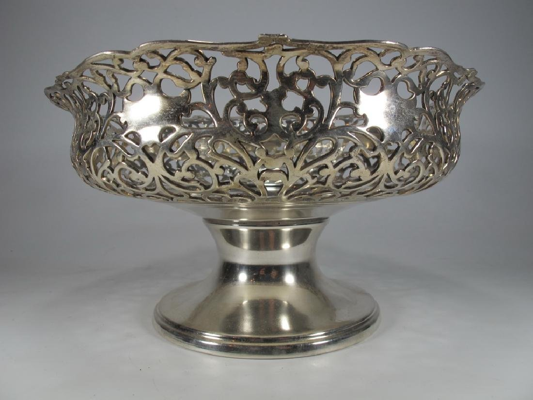 Apollo Silver Co, NY silverplate centerpiece - 3