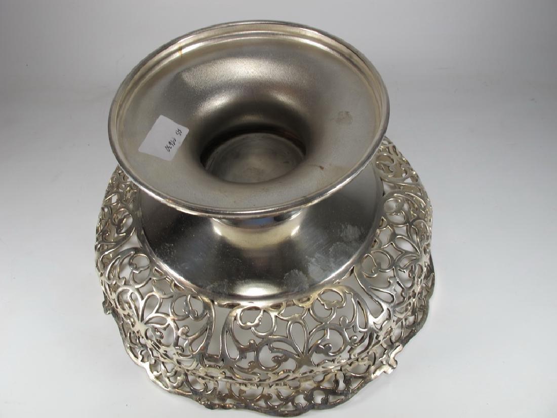 Apollo Silver Co, NY silverplate centerpiece - 4