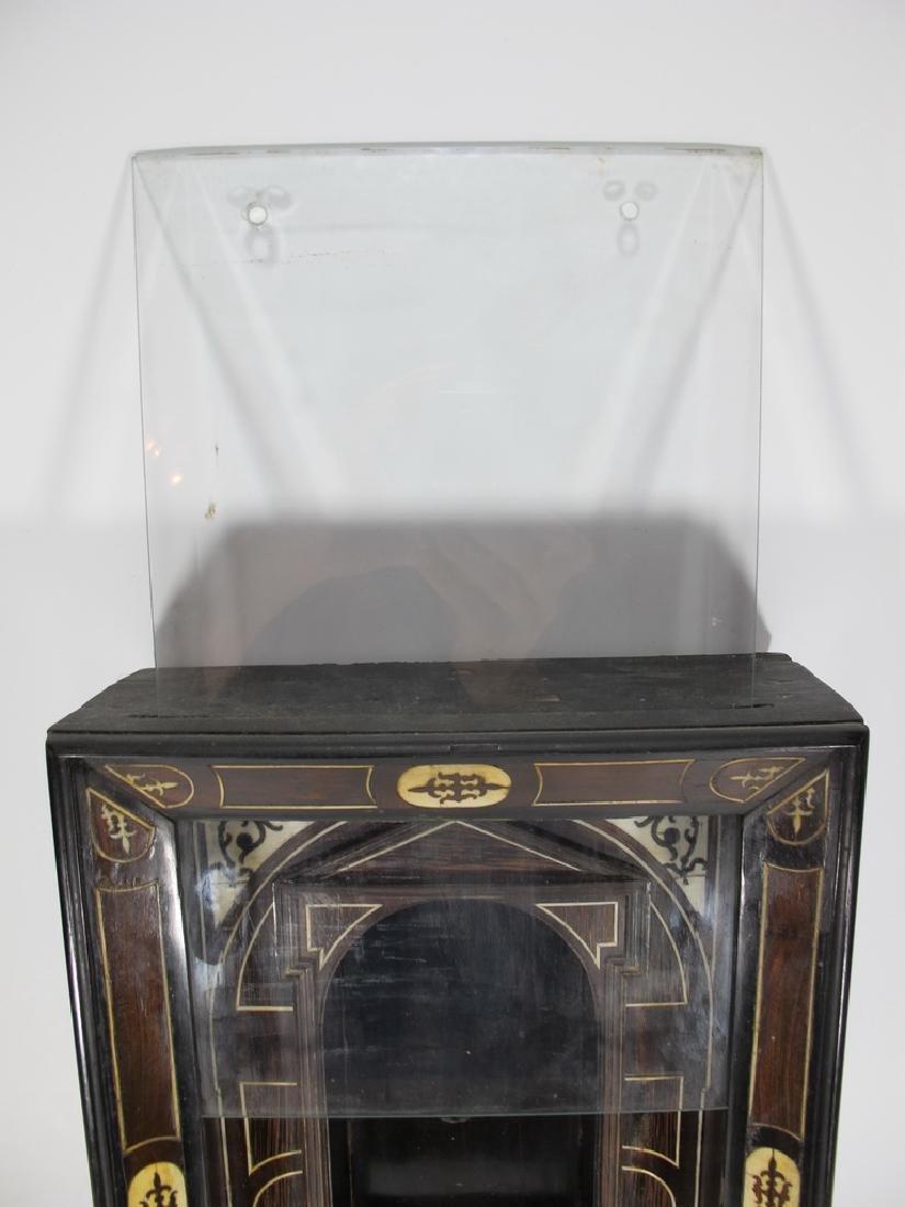 18th/19th C. European probably ebony niche - 3