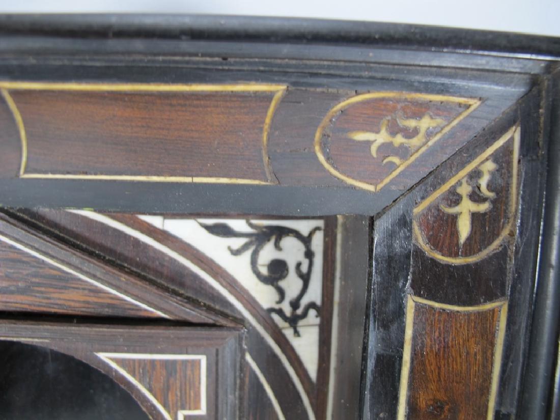 18th/19th C. European probably ebony niche - 6