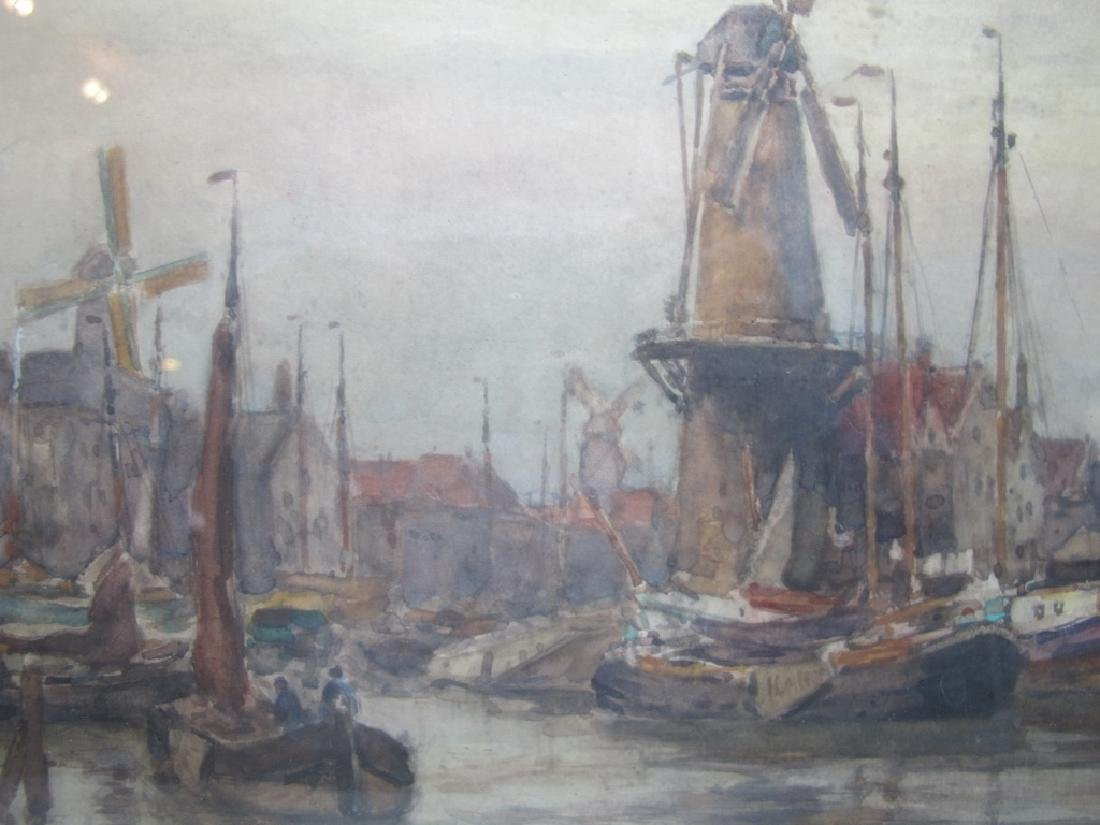 Martin VAN WANING (1889-1972) watercolor - 2