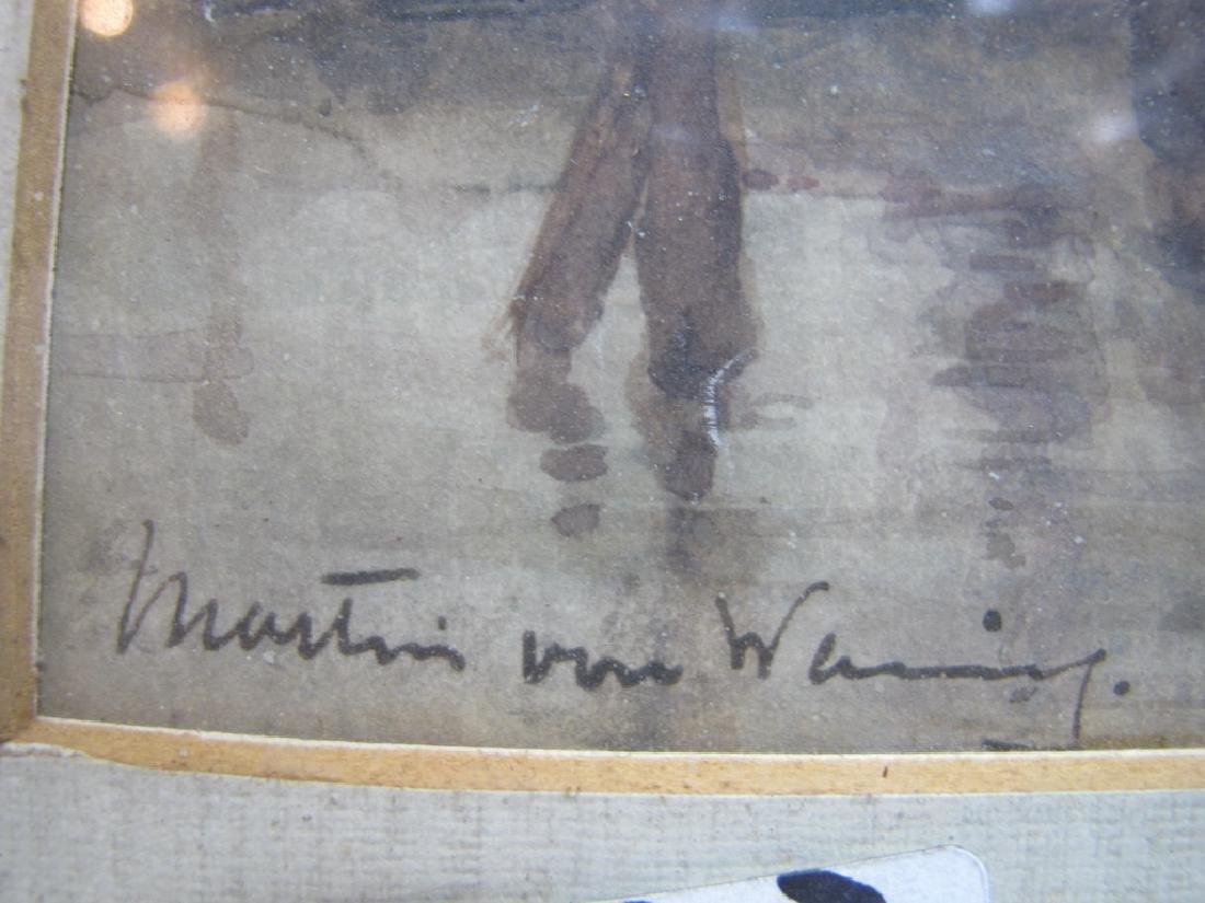 Martin VAN WANING (1889-1972) watercolor - 3