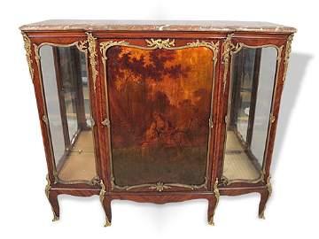 Antique original F. Linke ormolu Venice Martin cabinet