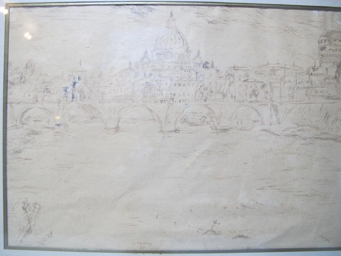 Orfeo TAMBURI (1910-1994) Italian artist drawings - 4