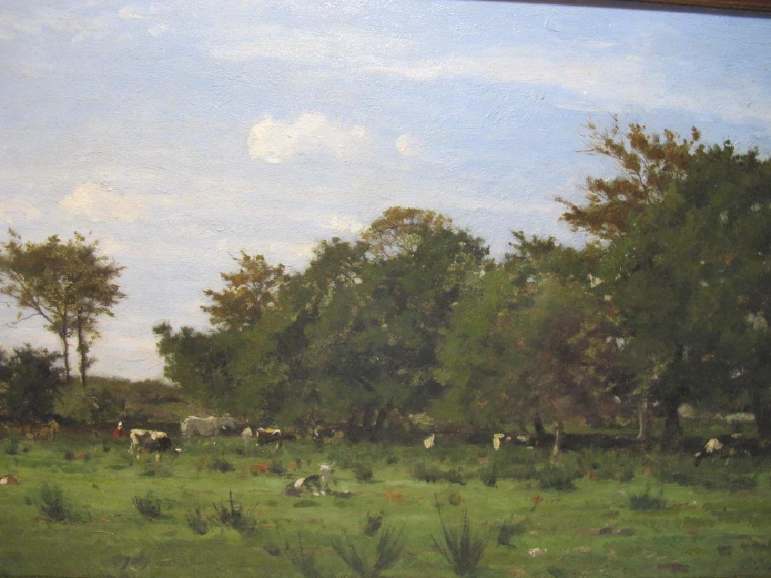 Camille BERNIER (1823-1902) oil on board painting - 2