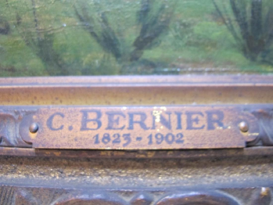 Camille BERNIER (1823-1902) oil on board painting - 5