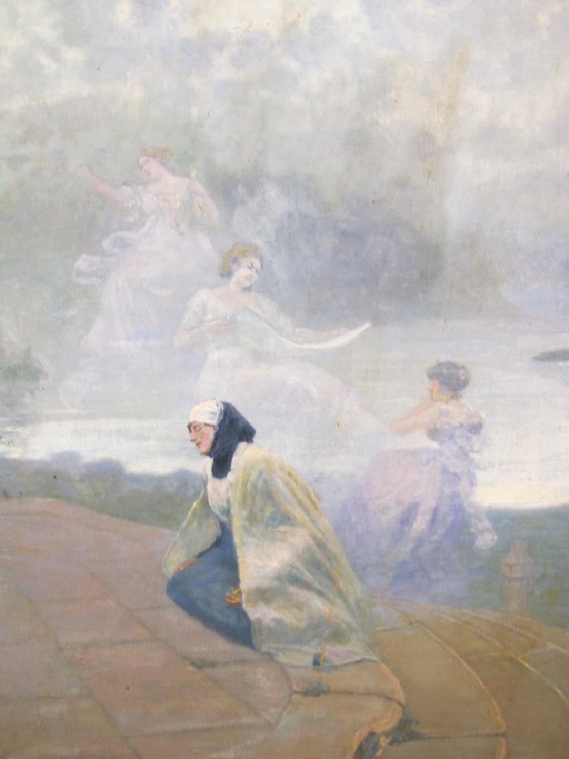 José QUARANTA (1851-1921) oil on canvas painting - 2