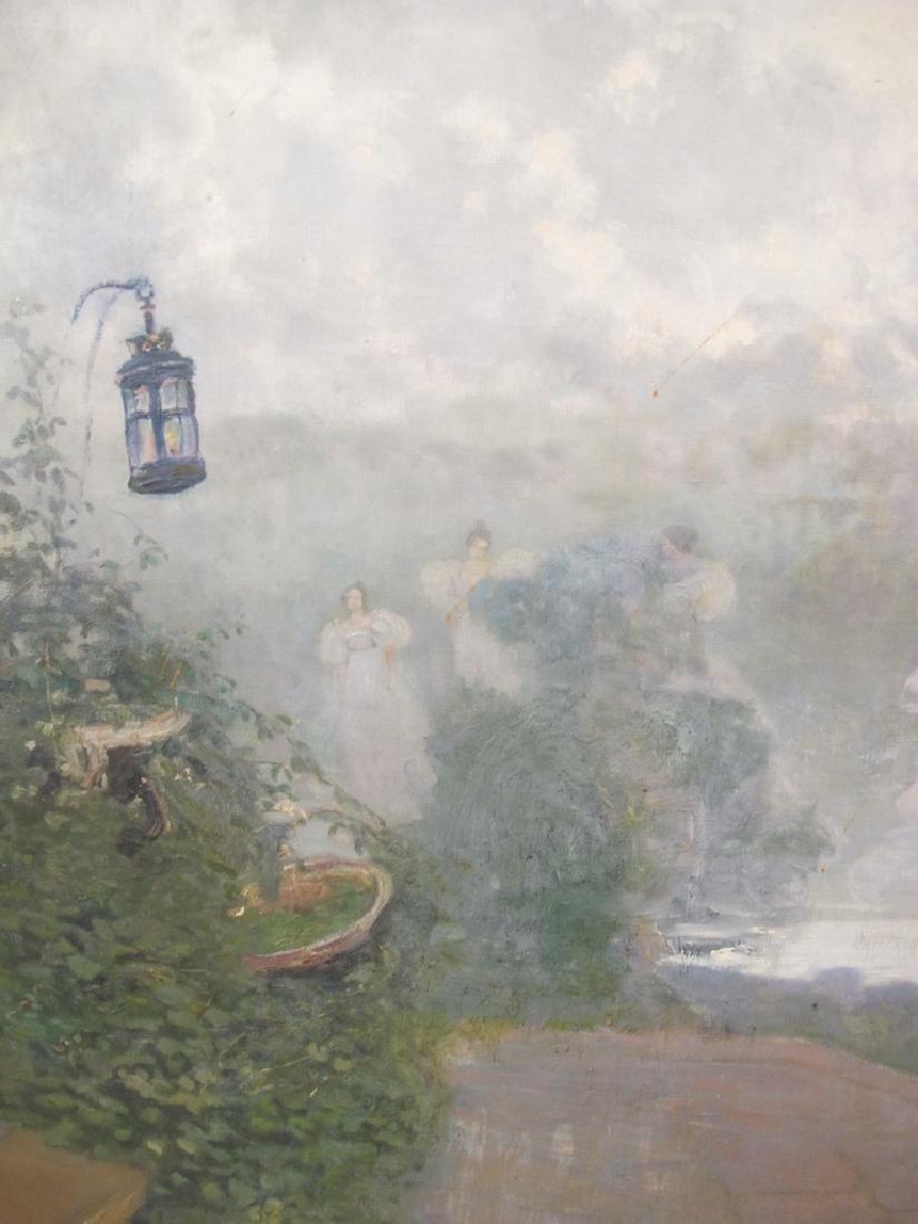 José QUARANTA (1851-1921) oil on canvas painting - 3