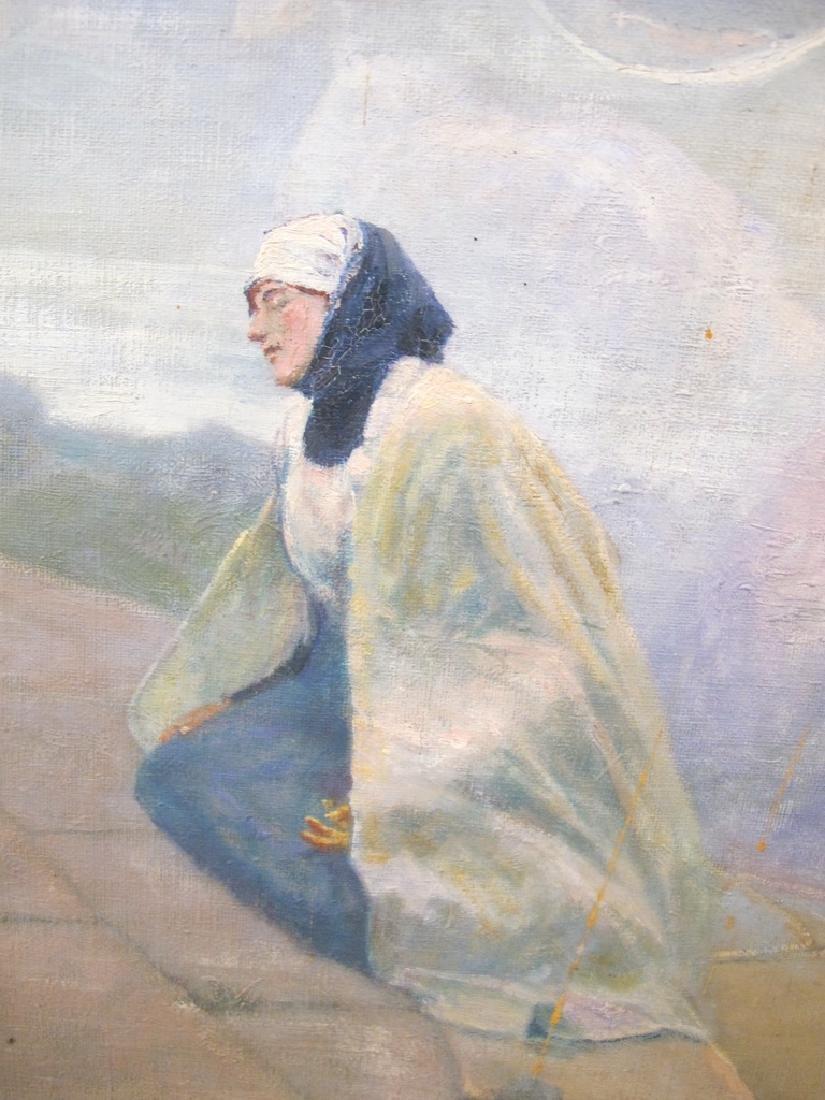 José QUARANTA (1851-1921) oil on canvas painting - 6