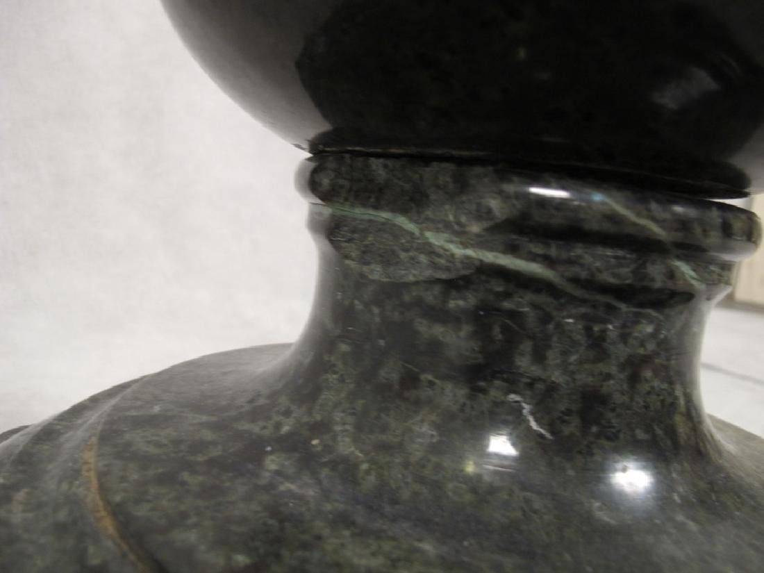 Antique Italian carved marble pedestal - 6