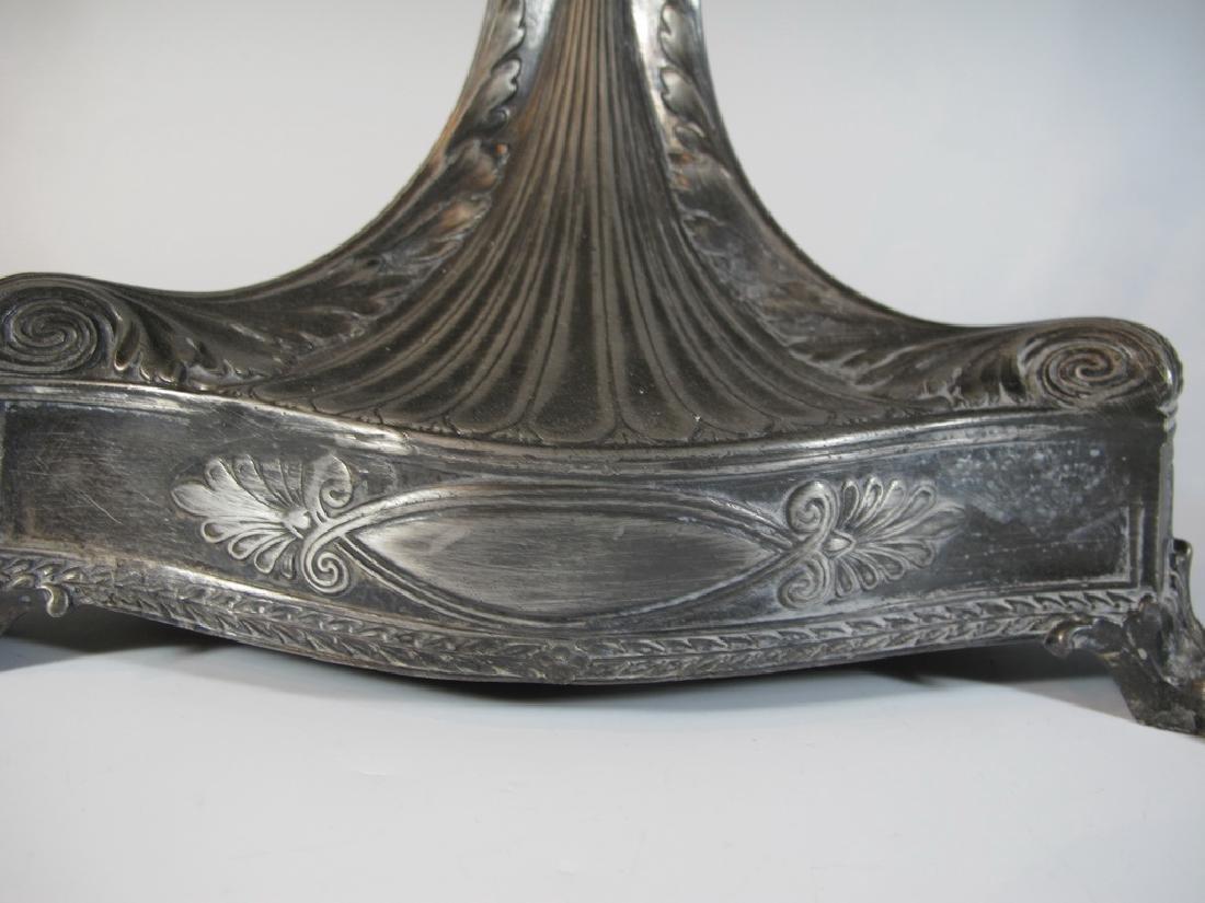 Antique German WMF metal & glass centerpiece - 5