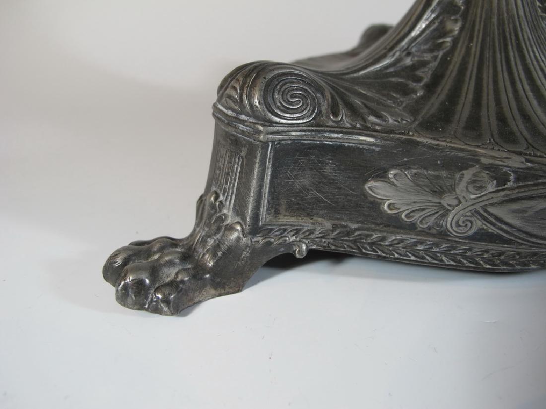 Antique German WMF metal & glass centerpiece - 6