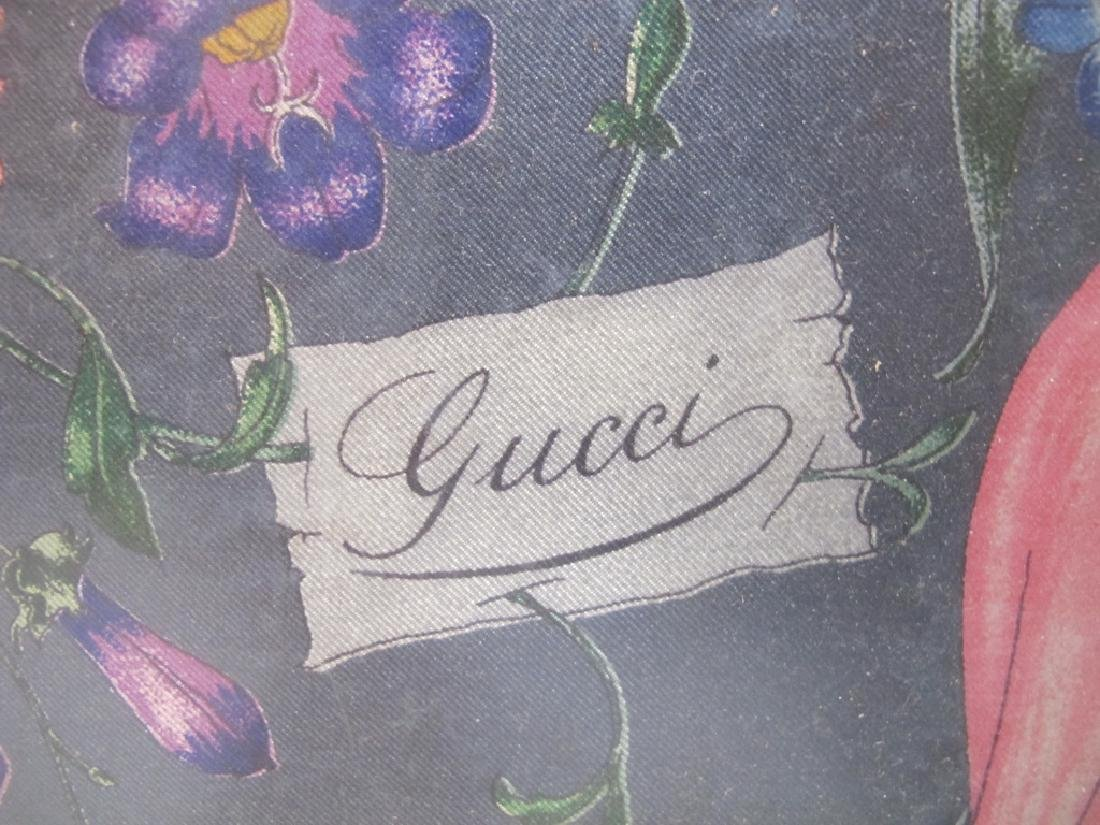 1970's Gucci V. Accornero framed scarf - 3