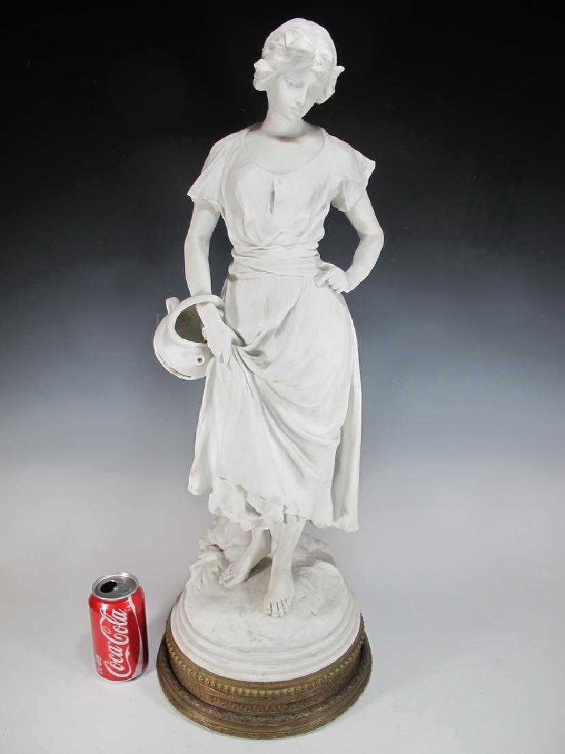 Luca MADRASSI (1848-1919) bisque statue