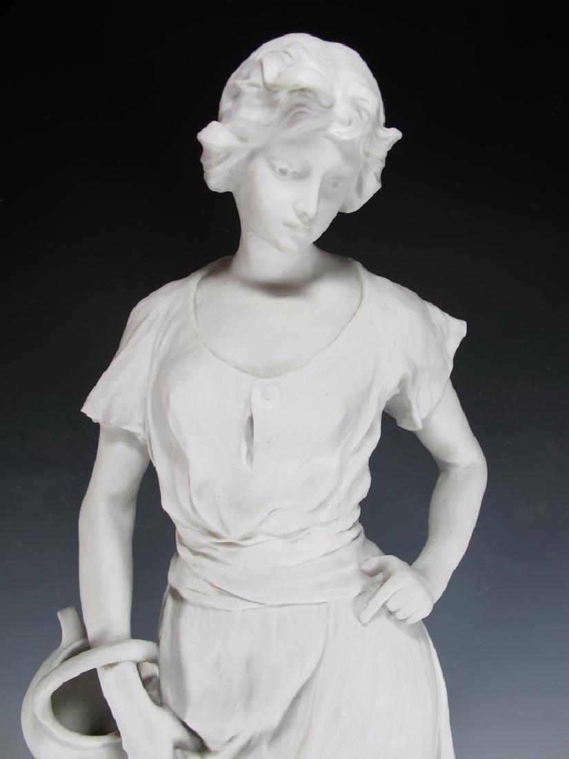 Luca MADRASSI (1848-1919) bisque statue - 2