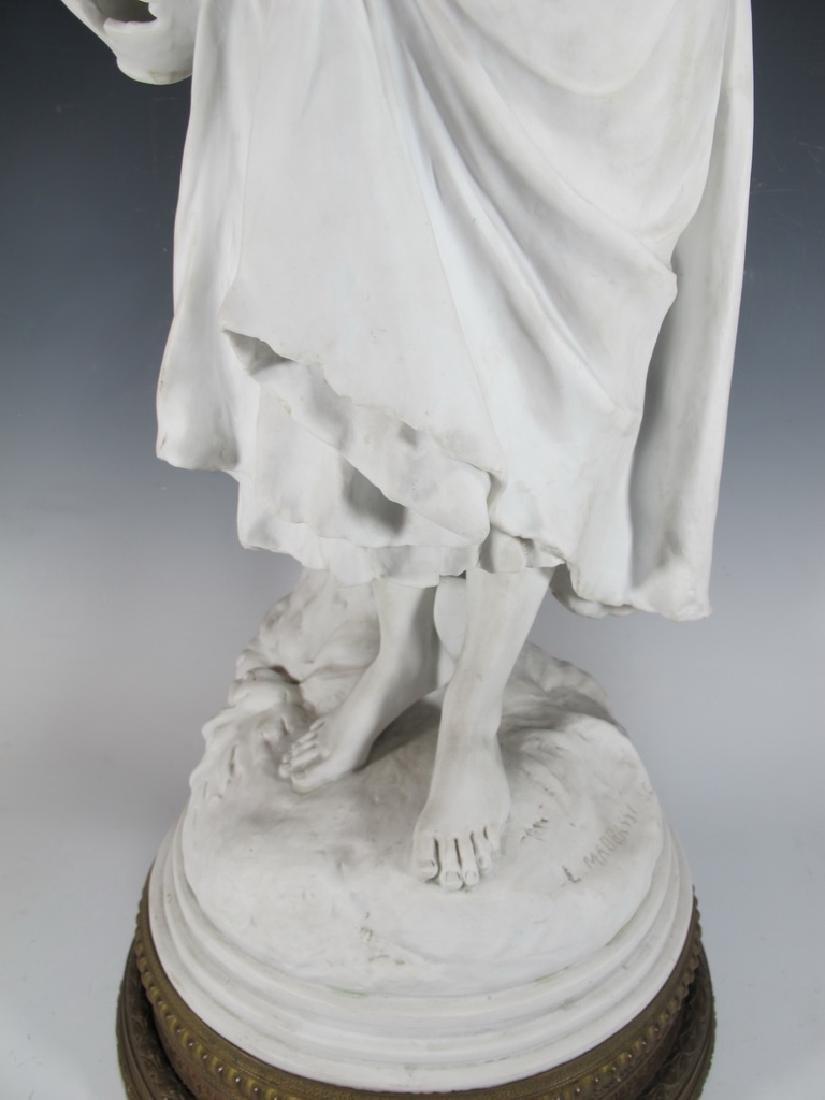 Luca MADRASSI (1848-1919) bisque statue - 3