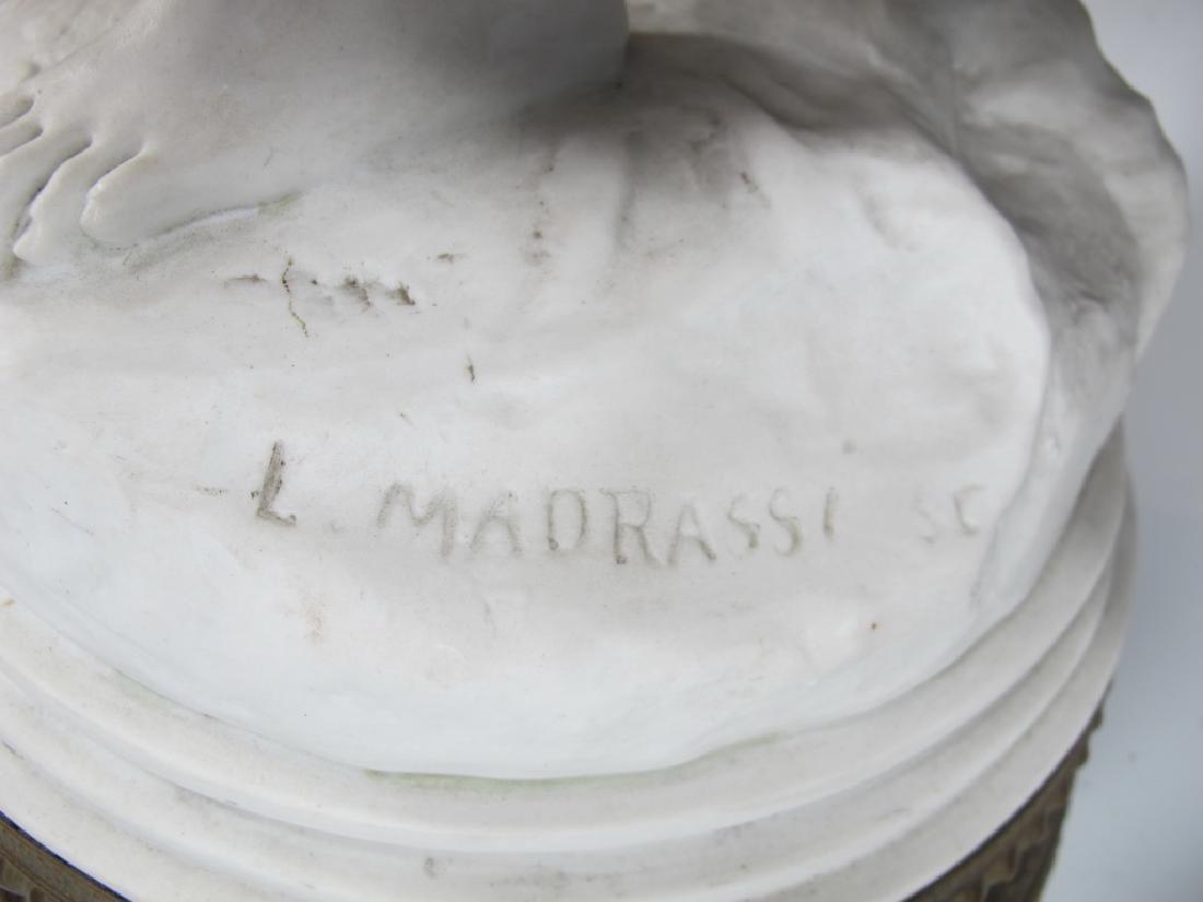 Luca MADRASSI (1848-1919) bisque statue - 4